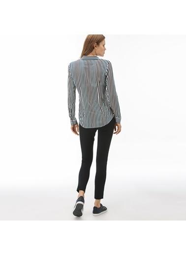 Lacoste Kadın Skinny Pantolon HF2006.06L Lacivert